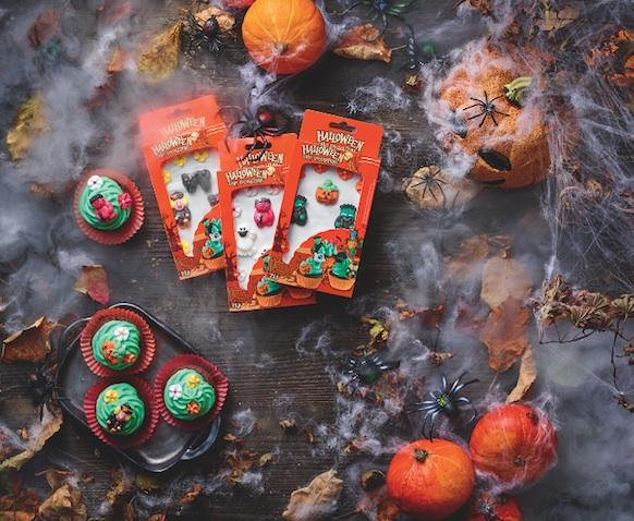 Decora cupcakes de Halloween