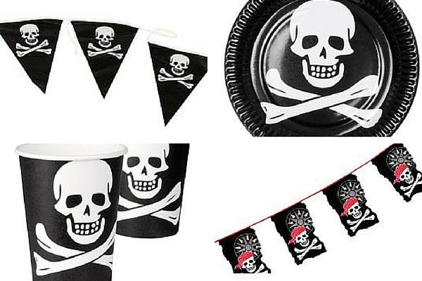 Fiesta infantil de Halloween piratas