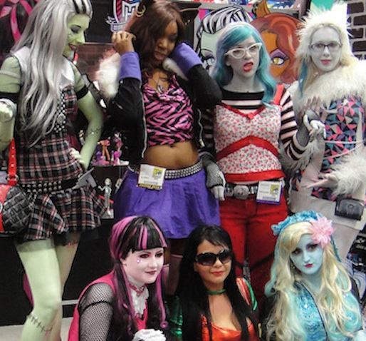 disfraz infantil casero monster high