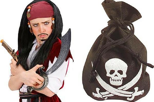 disfraz pirata complementos