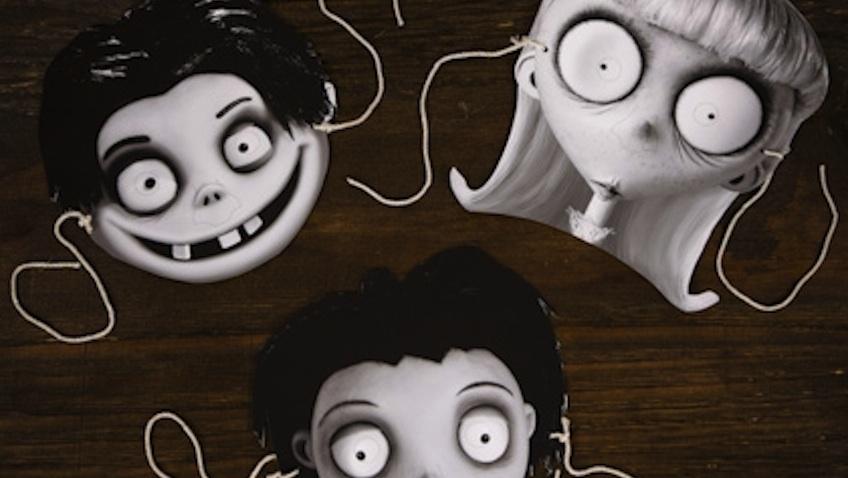 mascaras infantiles frankenweenie