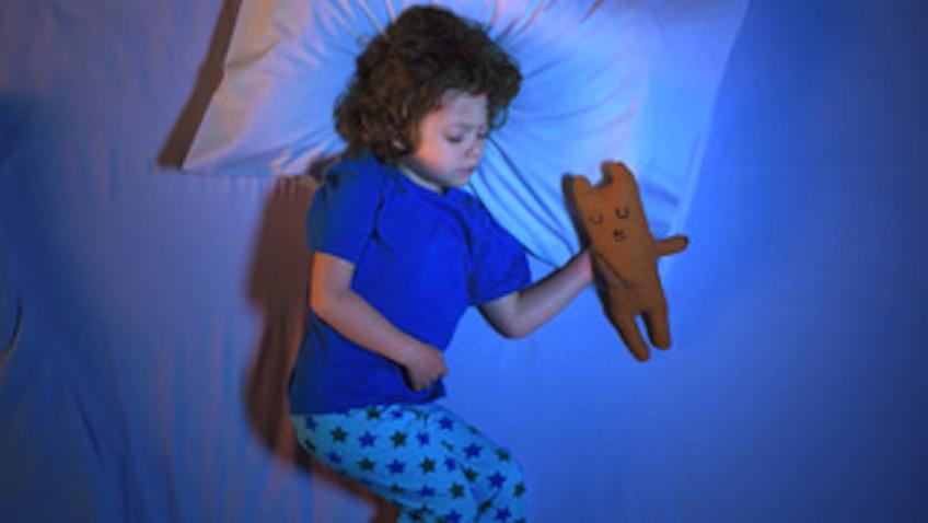 niños dormir fuera de casa