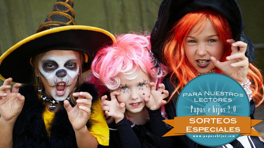 sorteo papas e hijos disfraz infantil para halloween