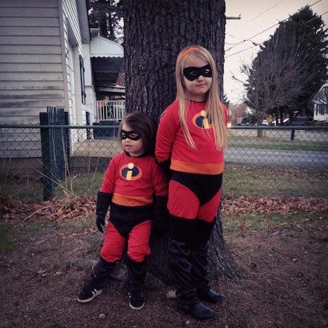 disfraz infantil los increibles ninas