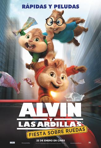 Alvin y las ardillas nueva pelicula