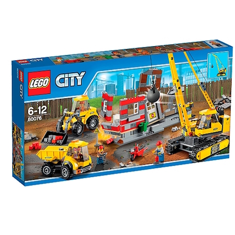 LEGO City - Solar de Demolición