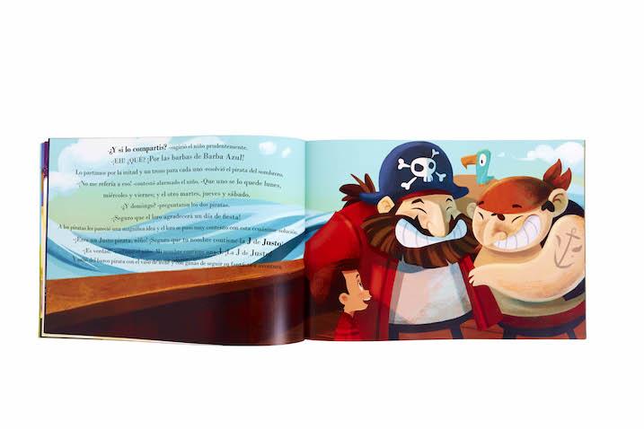 La magia de mi nombre, libro infantil personalizado