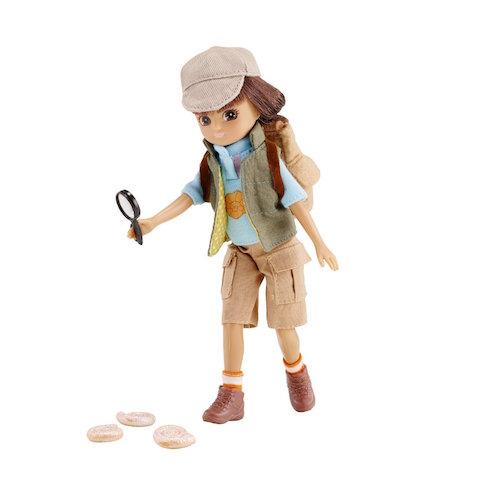 Muñeca Lottie Arqueóloga