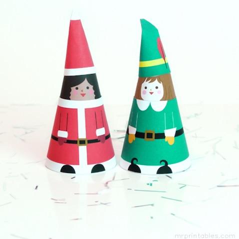 manualidad navideña para niños