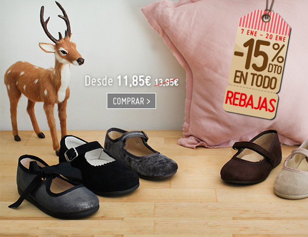 calzado infantil barato niñas