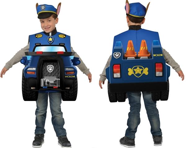 Disfraz Chase Patrulla Canina coche policia
