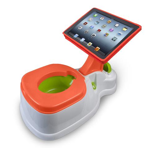 iPotty orinal para bebés con ipad
