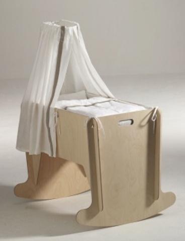 Minicuna transformable en mueble