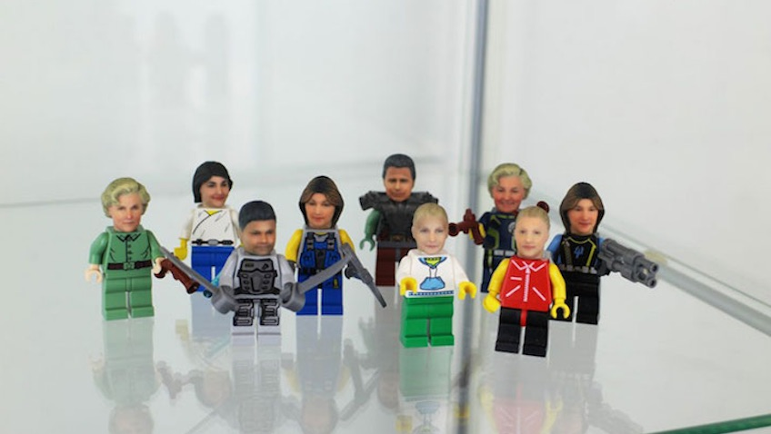 minifiguras LEGO caras humanas