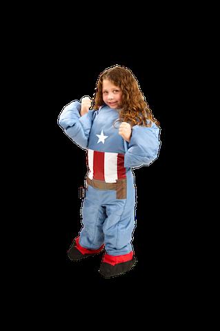 Saco de dormir para niños de Capitán América