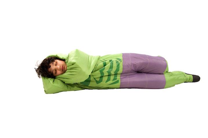 Saco de dormir para niños de Hulk