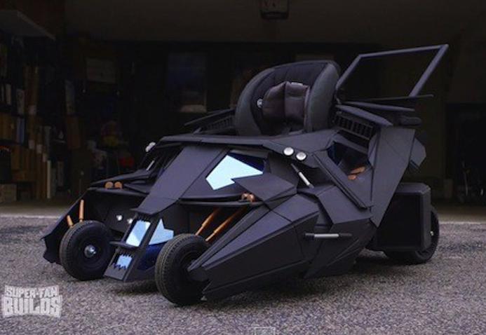 Silla de paseo de Batman