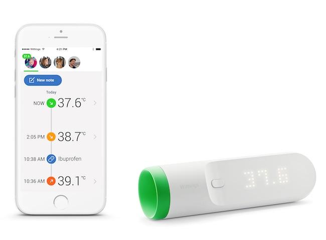 termometro bebe iphone app