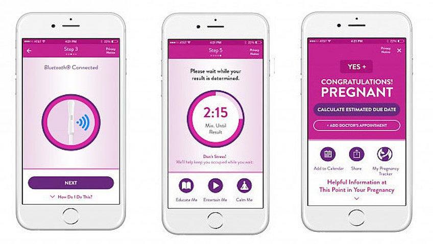 Test de embarazo para iPhone