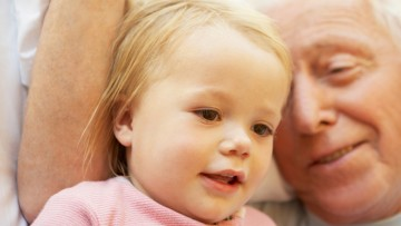 La importancia de los abuelos en los niños