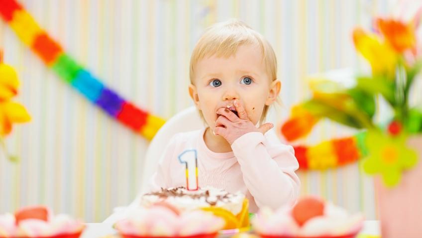 celebrar el primer cumpleaños
