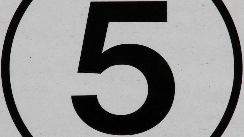 cuenta atras cinco