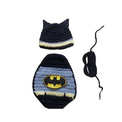 disfraz batman bebe crochet