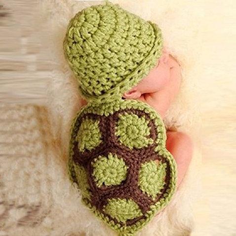 disfraz bebes recien nacidos tortuga