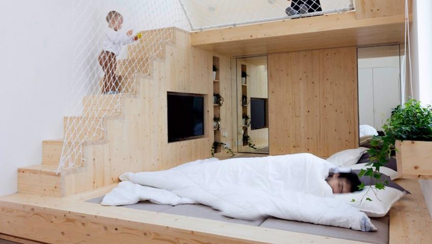 habitación colecho cama familiar