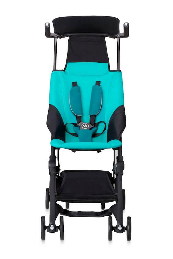 silla de paseo compacta Pockit Capri Blue