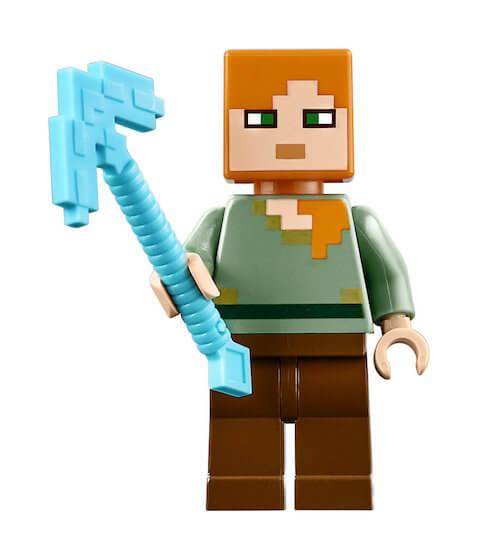 Minifiguras Lego Minecraft
