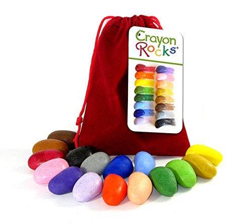 lápices de cera ecológicos crayon rocks bolsa roja