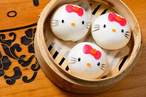 Dim sum de Hello kitty