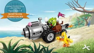 ¡Sorteo de un set de LEGO Angry Birds!