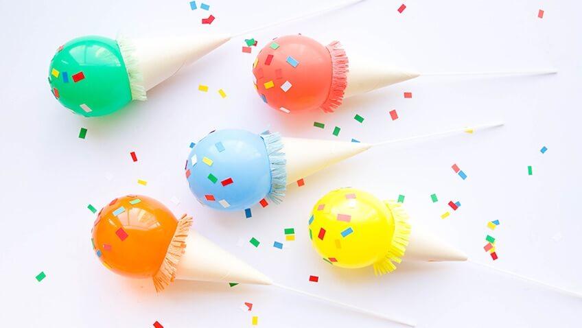 fiesta de cumpleaños de helados