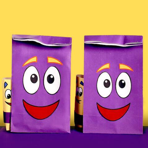 Bolsas chuches de la mochila de Dora