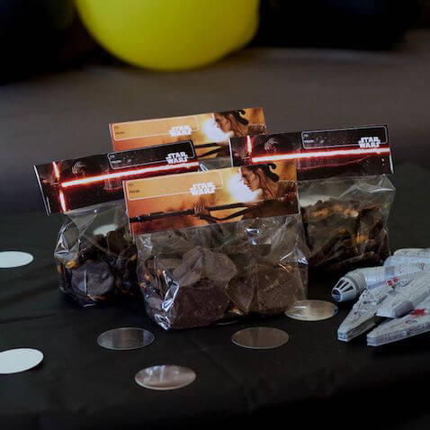 Bolsas de chuches de Star Wars