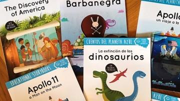 ¡Sorteo de dos cuentos educativos de Blue Planet Tales!