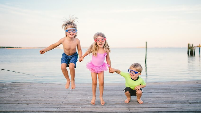 gafas de agua infantiles babiators