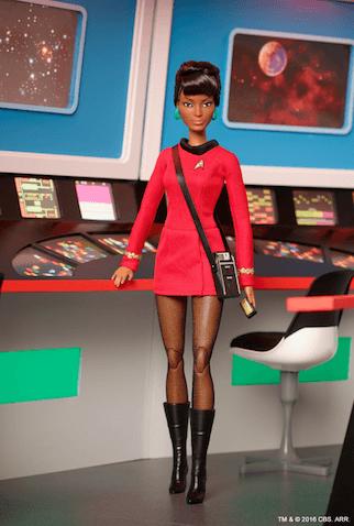 Muñeca de star trek uhura