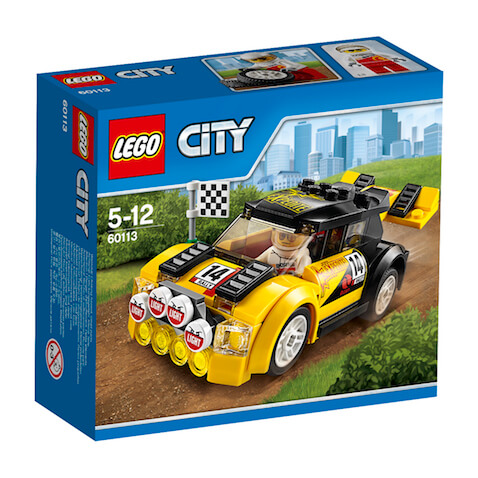 Coche de rally de LEGO City