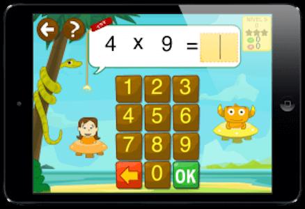 app de matemáticas para practicar multiplicación y división