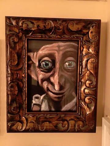 cuadro Dobby el elfo de Harry Potter