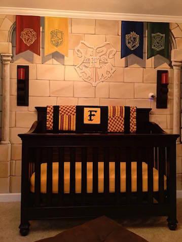 Cuna habitación Harry Potter