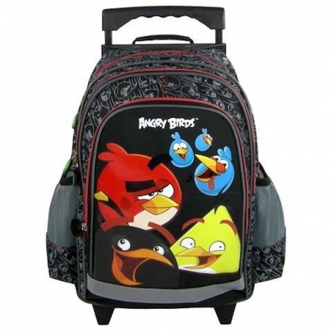 Mochila de Angry Birds con ruedas