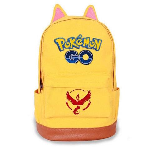 Mochila Pokemon GO amarilla