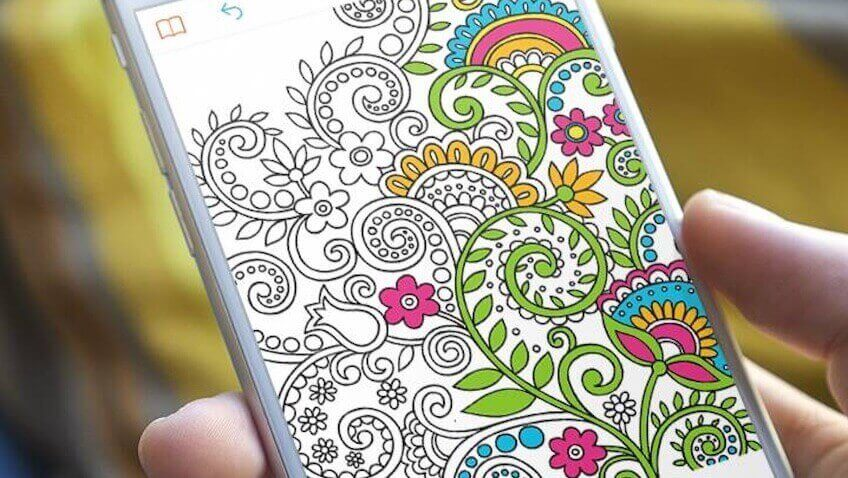 App gratuita para pintar mandalas