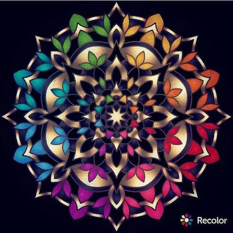 Descarga app gratuita para pintar mandalas