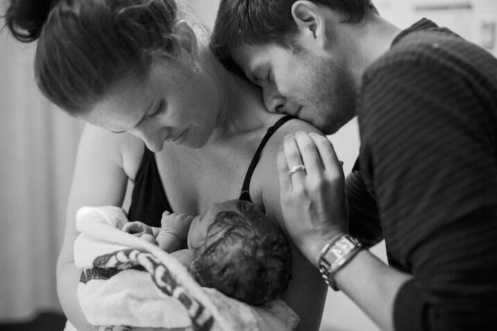 Cuando conocimos por primera vez a nuestro bebé recién nacido...