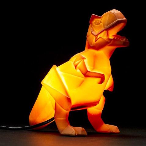 lampara infantil original y divertida t-rex